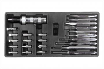 25PC PUNCH & IMPACT DRIVER SET