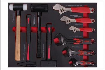 10PCS  Professional Wrench & Hammer Set
