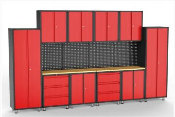 16pcs Garage Organization Collection