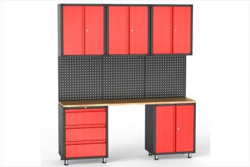9pcs Garage Organization Collection