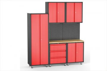 8pcs Garage Organization Collection
