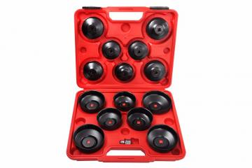 14PCS CUP TYPE OIL FILTER WRENCH SET