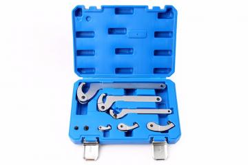 8-Piece Hook Wrench Set,35-120mm