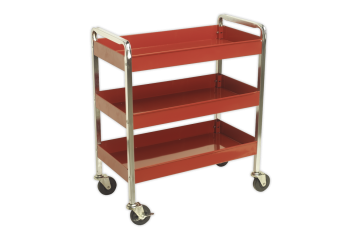 3-Level heavy-duty trolley