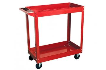 2-LEVEL HEAVY-DUTY WORKSHOP TROLLEY