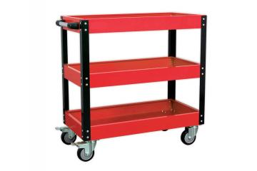3-LEVEL HEAVY-DUTY WORKSHOP TROLLEY