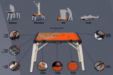 4 in 1 Multipurpose Work Platform Workbench
