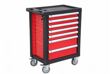 7 Drawers Metal Tool Trolley
