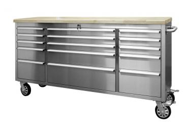 72 inch stainless steel tool cabinet
