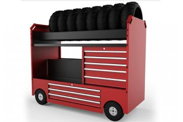 Multi-function Tyre Trolley
