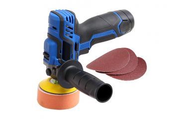 10.8V Cordless rotary polisher & sander