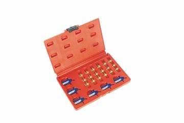 24PCS FLOW METER ADAPTOR SET For Common Rail Diesels