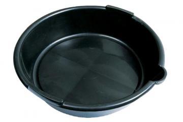 6L PLASTIC OIL DRAIN PAN - ROUND SHAPE