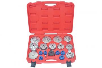 19PCS OIL FILTER CAP WRENCH SET For Cartridge Type Filter