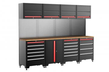 14 Pieces  Deluxe-Garage Organization Collection