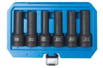 6pcs 3/4inch  Impact Socket Set