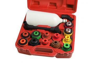 15 PIECE ENGINE OIL FILLER SET (PLASTIC)