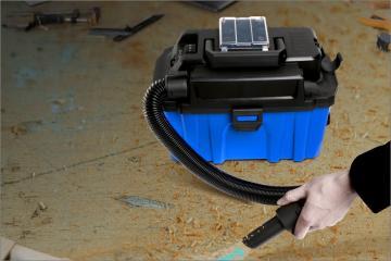 20V Li-ion battery brushless vacuum cleaner