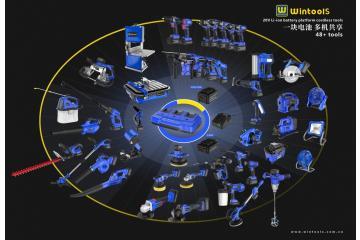 20V Li-ion Cordless Tools Family - Offer list  (47 items same battery plateform) 20V锂电(无刷)通用平台产品集